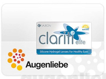 Sauflon clariti elite Monatslinse (3Stk.) (-1,50)