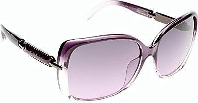 Guess gafas de sol cuadradas clásica en Lila Gu7296 Pur 58