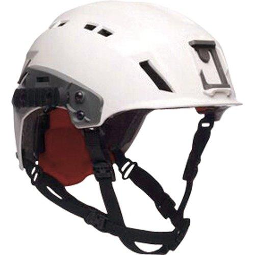 exfil-sar-tactical-casco-con-rails-color-blanco