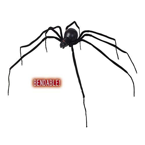 WIDMANN 7817F Spinne schwarze Witwe modellierbar Unisex– Erwachsene ()