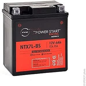 Nx Motorrad Batterie Ytx7l Bs Ntx7l Bs 12v 6ah Auto