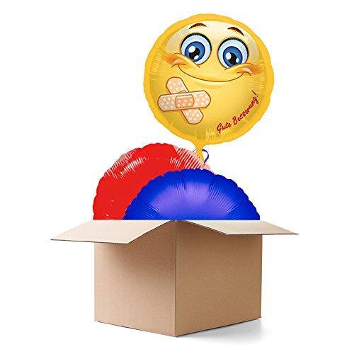 Ballongrüsse GUTE BESSERUNG, 3 (Gute 3 Personen Für Kostüme)