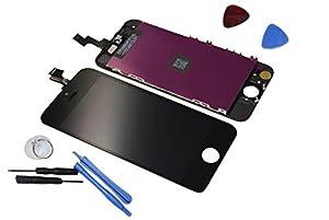 Apple iPhone 5S Display Original Retina LCD Bildschirm Touch Screen Glas Scheibe Komplett Neu schwarz/black + WERKZEUG