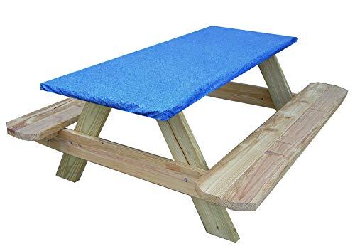 Go Granite Picknick- und Bankett-Tischdecke, Blau