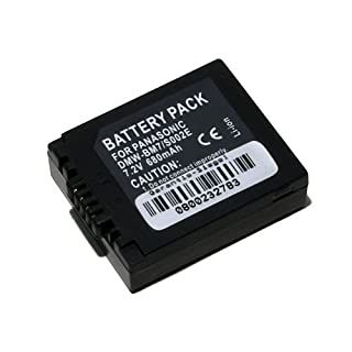 Ersatzakku für Panasonic CGA-S002E DMW-BM7