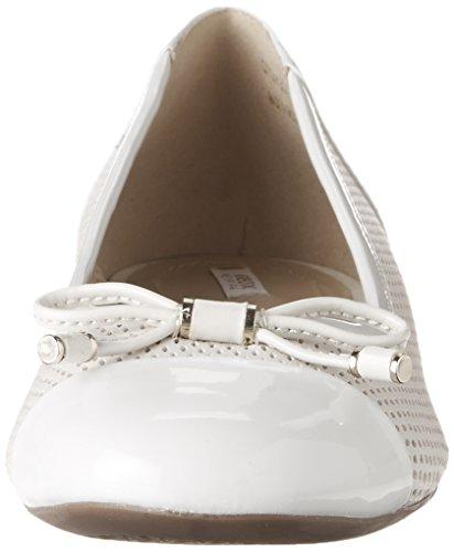 Geox Ladies D Wistrey G Ballerina Chiusa Avorio (fuori Whitec1002)