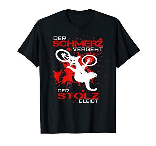 Mountainbike MTB T-Shirt | Schmerz vergeht, Stolz bleibt! T-Shirt
