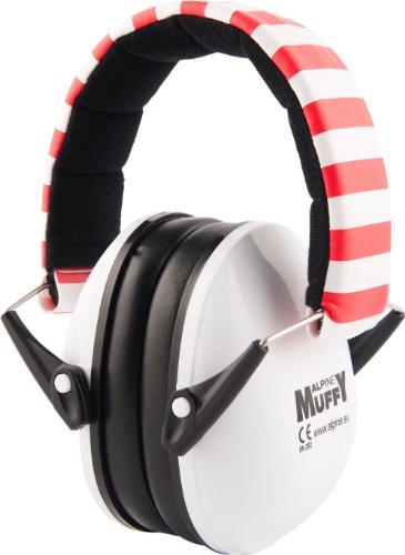 Preisvergleich Produktbild Alpine Muffy - Kinder Gehörschutz - Kapselgehörschutz - Weiß, 1er Pack