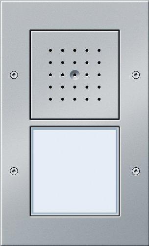 Gira 126665 Door Intercom AP 1-Panel Aluminium-Coloured