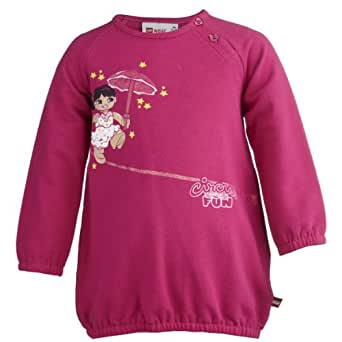 Lego Wear - Pull - Fille - Violet (475 Cherise ) - FR : 12 mois (Taille fabricant : 80)