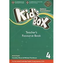 Kid's Box Level 4 Teacher's Resource Book with Online Audio British English