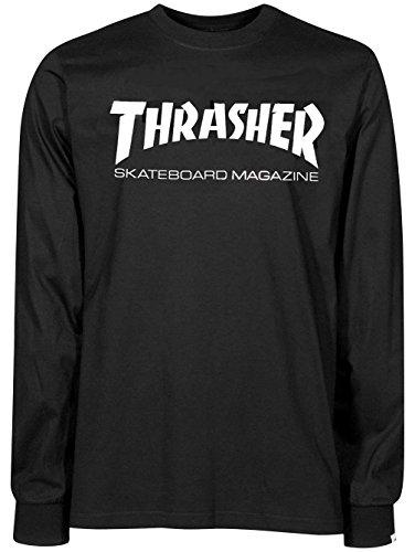 Thrasher skate mag - maglia a maniche lunghe - nero - m