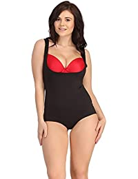 Clovia Women Laser-Cut No-Panty Lines High Control Body Suit
