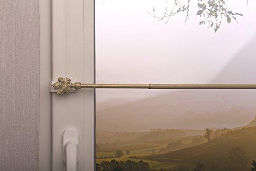 gardinenstange-vitragenstange-blatt-weiss-gold-ausziehbar-120-150cm-klemmtrager-zur-aufhangung-von-s