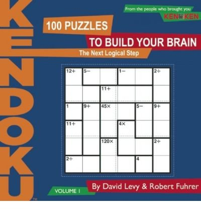 By Levy, David [ [ KenDoku, Volume 1: 100 Puzzles to Build Your Brain (Kendoku #01) ] ] Feb-2009[ Paperback ]