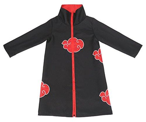 CoolChange Akatsuki Mantel für Kinder Cosplay Kostüm Größe: ()