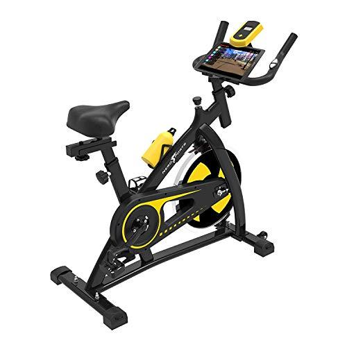 41DKFB2CCPL. SS500  - Nero Sports Upright Exercise Bike Indoor Studio Cycles Aerobic Training Fitness Cardio Bike