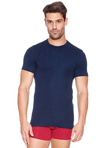 Abanderado Herren Unterhemd Marineblau
