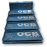 OCB X-Pert Blue 1 1/4 Rolling Papers Pack Of 5 Booklets From SUDESH ENTERPRISES