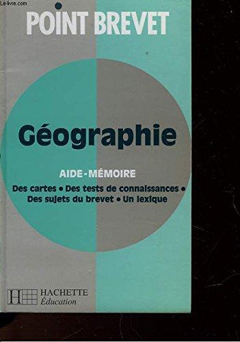 Point brevet : 2 - Aide-mémoire géographie
