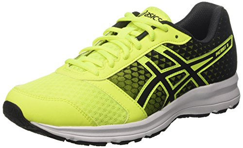 Asics Patriot 8, Zapatillas de Running Hombre, Amarillo (Safety Yellow