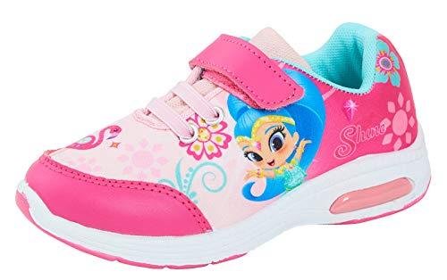 Lora Dora Shimmer and Shine Mädchen Sneaker, Pink - Rose - Größe: 25 EU