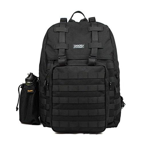 Sincere® Forfait / ventilateurs Sacs à dos / Armée Portable / Ultraléger le camping tactique / randonnée en plein air escalade paquet noir 40L