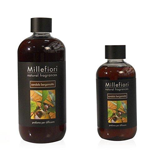 Preisvergleich Produktbild Millefiori Milano Raumduft Natural Fragrances Stick Diffusor Nachfüllflasche Mango & Papaya,  500 ml,  Diffuser Stäbchen fruchtig blumig