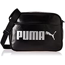 Puma Campus Reporter PU Bag, Unisex Adulto, Black, OSFA