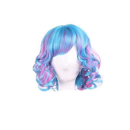 XNWP-Melange di moda breve parentesi Cosplay anime partito parrucca parrucche