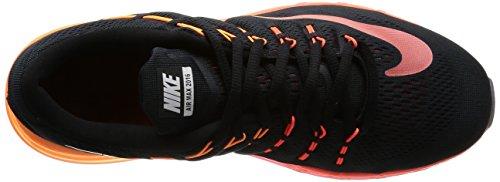 Nike Air Max 2016, Chaussures de Running Entrainement Homme Noir (Black (noir / multi-couleur-Noble réseau))