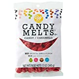 Wilton Candy Melts, Cobertura para repostería (Rojo) - 340 gr.