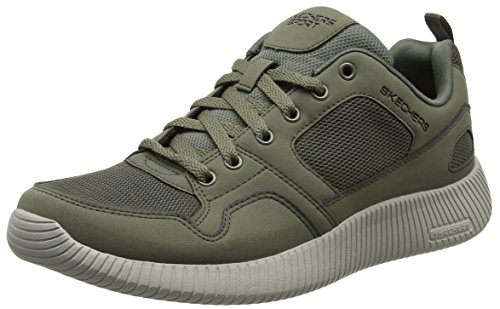 Skechers 52399, Sneaker Uomo, Verde (Olive), 44 EU