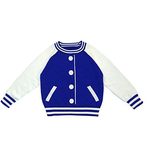 Dr. Mama Pull en tricot pull pour enfants coton bébé garçon fille à manches longues Sweat-shirt famille Vêtements Sets automne Pull Outdoor Sport Vêtements pour enfants et Mama Bleu