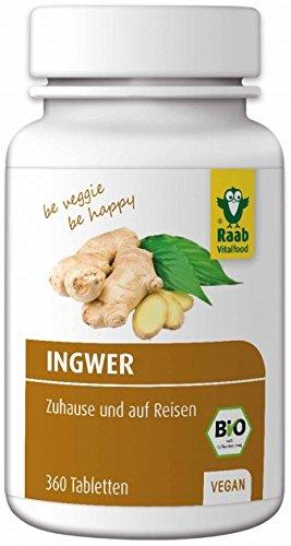 Raab Bio Ingwer Tabletten 360St.