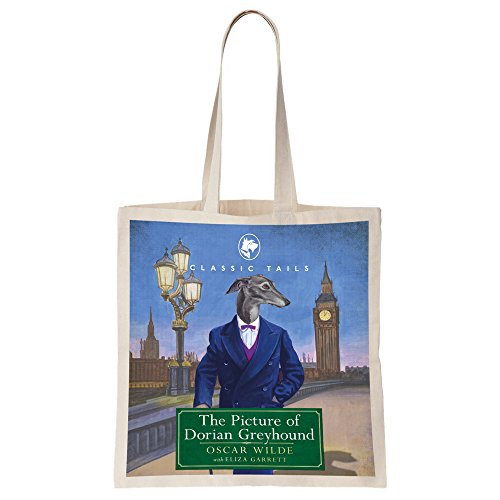 The Picture Of Dorian Greyhound Beautifully Illustrated Totebag