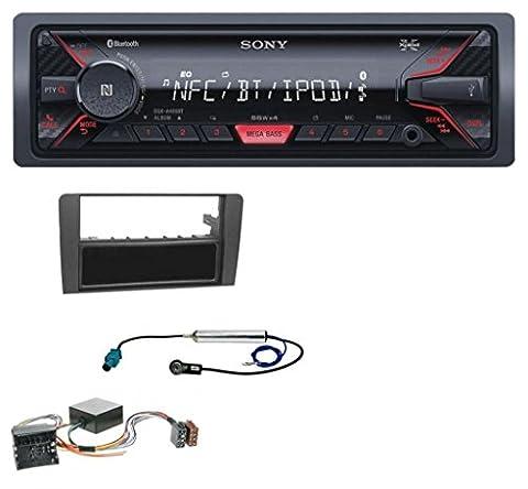 Sony DSX-A400BT Bluetooth AUX USB MP3 Autoradio für Audi A3 8P 06-12 Symphony Infinity Aktivsystem