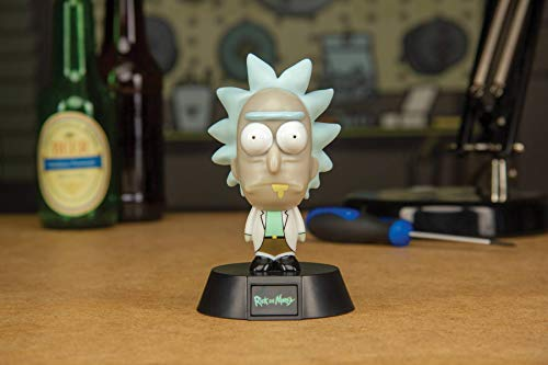 Paladone Products Rick and Morty 3D Icon Light Morty 10 cm Lamps Lights