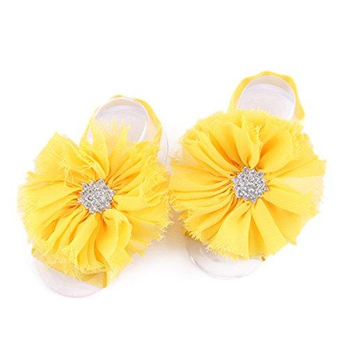 Puschen Yst, Menina Bebê Engatinhando Sapatos & M Amarelo