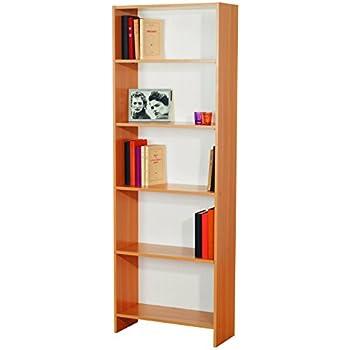 Links - Castaway 2 libreria. Dim. 60,3x24,4x169h cm. Truciolare. Faggio.