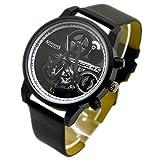 Sien Assassins Creed Herren-Armbanduhr, elektronisch, Quarz-Uhrwerk, Schwarz