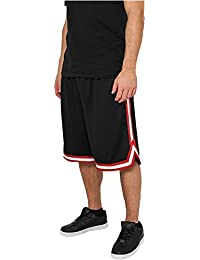 Short Basketball Urban Classics Stripes Mesh dans 10 couleurs