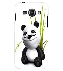 ColourCraft Cute Panda Design Back Case Cover for SAMSUNG GALAXY ACE 3 LTE S727