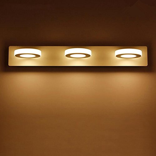 MSAJ-Moderne einfache LED-Spiegel vorne Lichter, Bad wasserdicht Nebel Wand Lampe, Bad Spiegel Schrank Lichter Bad Lichter,48cm