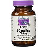 Bluebonnet Nutrition, Acétyl L-Carnitine, 500 mg, 60 Vcaps