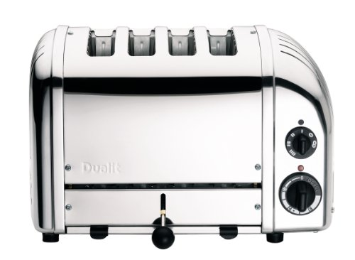 Dualit 47030 New Generation Vario Toaster 4-Schlitz, poliert