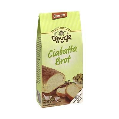 Bauckhof Bio Bauck Demeter Ciabatta Brot (1 x 500 gr)