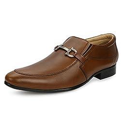Escaro Mens Tan Formal Shoes(ES4012KB_TAN_10)