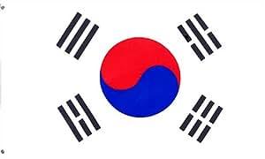 South Korea 3Ft X 5ft bedruckt Polyester Flagge