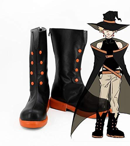 Benutzerdefinierte Kostüm Cosplay - WSJDE Anime Academia Cosplay Kostüme Academia Bakugou Katsuki Schuhe Cosplay Benutzerdefinierte Halloween Karneval Kostüm Requisiten Cartoon Schuhe48